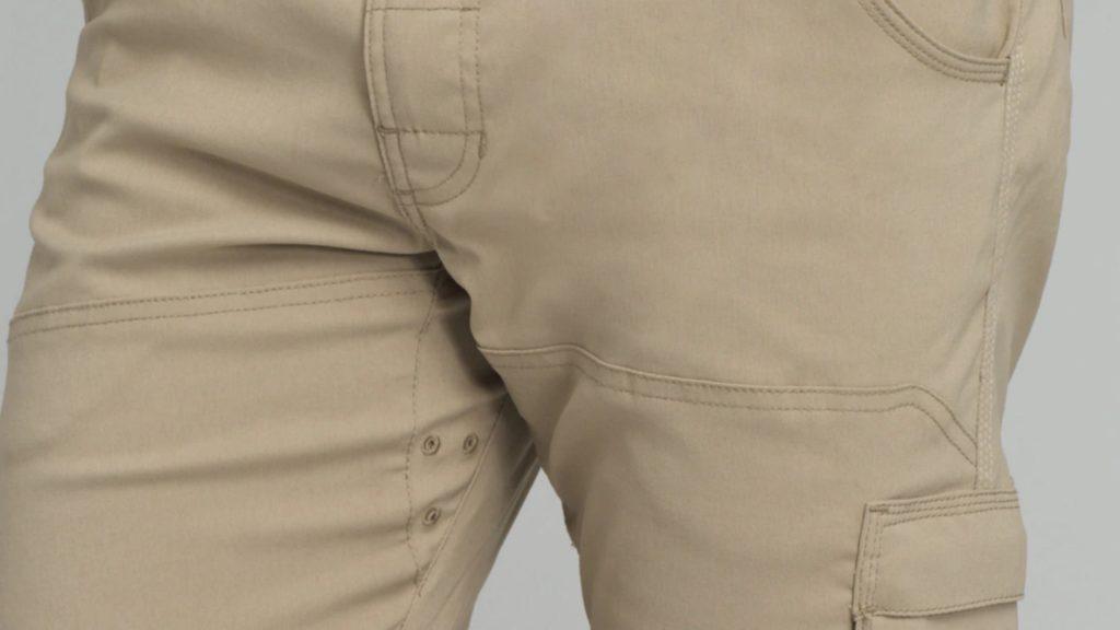 מערכת אוורור במכנס prana zion